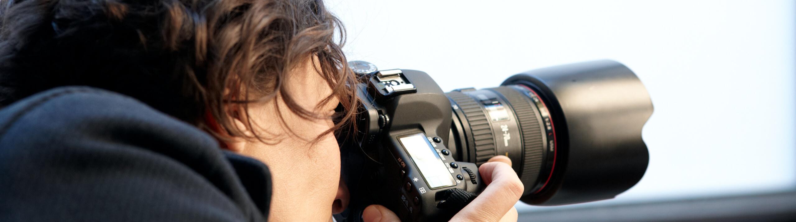 Initiative Vaircon - Versicherungen für Presseberufe - Fotografin